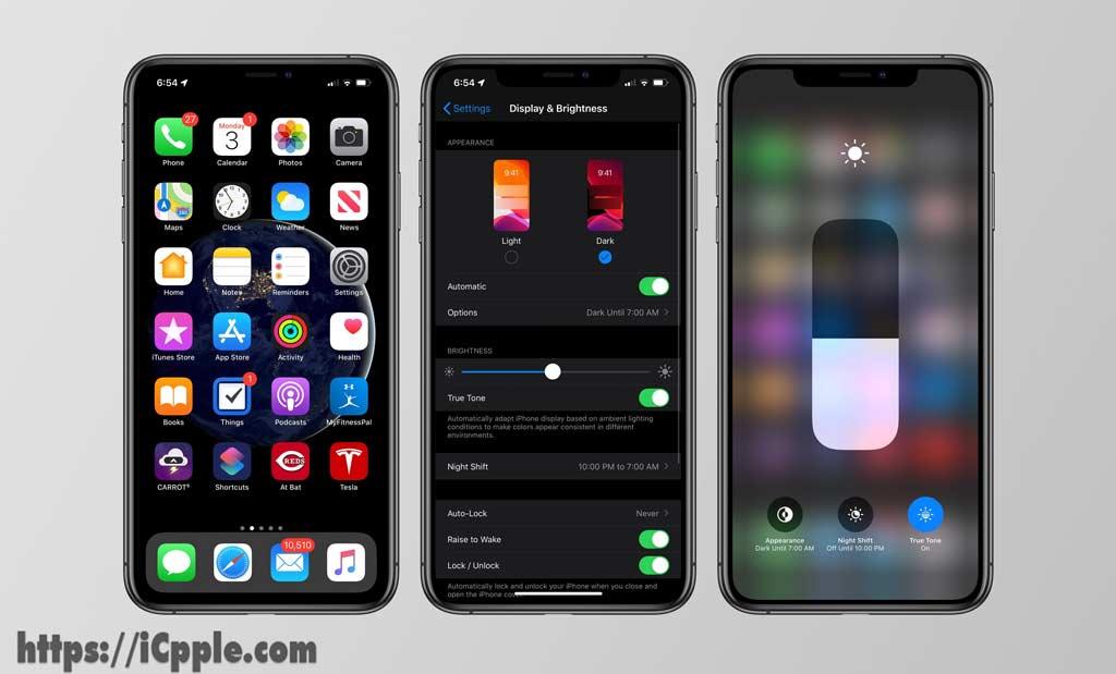 ios 13 dark mode relaese - زمان انتشار آپدیت iOS 13 به همراه Watch OS 6 و iPad OS 6